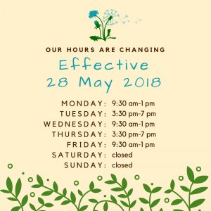 Such Exciting News, We Are Going To Be Open On MONDAYS!